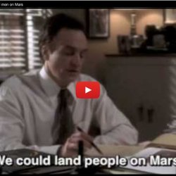 ▶ The West Wing - Josh Lyman and men on Mars