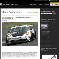 Westbrook gets FIA GT campaign off to a platinum start - Race Boots