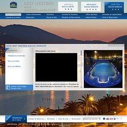 Capacité des espaces / Best Western Ajaccio Amirauté / Nos sites, nos salles / Séminaire / Corsica hotels - Corsica Hotels