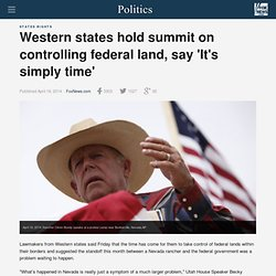 Western lawmakers strategize on taking control of federal lands