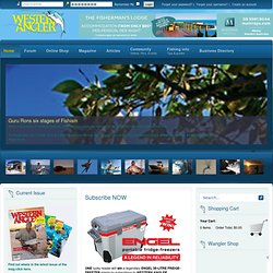 Western Angler | Your Online Guide to Fishing Western Australia