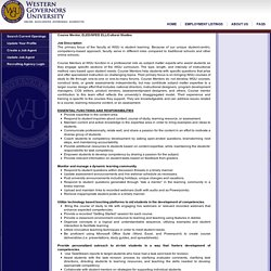 Western Governors University Careers