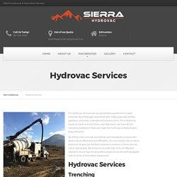 Western Canada Hydrovac Services - Sierra Hydrovac