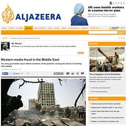 Western media fraud in the Middle East
