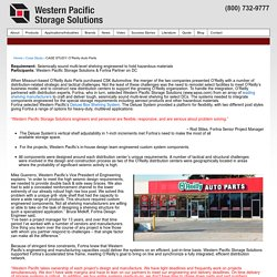 CASE STUDY: O'Reilly Auto Parts - Western Pacific Storage Solutions