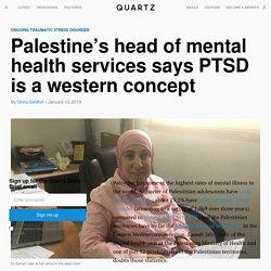Palestine and PTSD