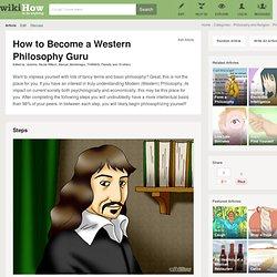 Become a Western Philosophy Guru