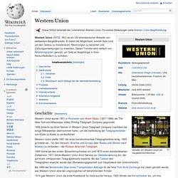 western union online bezahlen