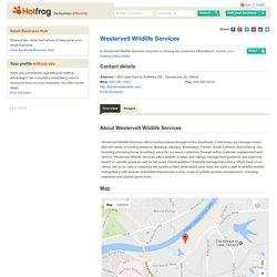 Westervelt Wildlife Services, Tuscaloosa AL - Wildlife Consultants