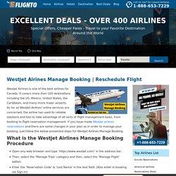 Westjet Airines Manage Booking