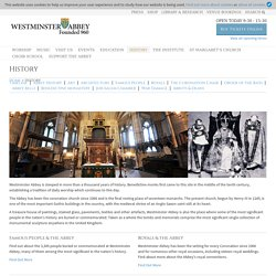 Westminster Abbey » History