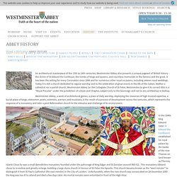 Westminster Abbey » Abbey History
