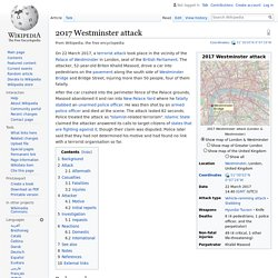 2017 Westminster attack - Wikipedia