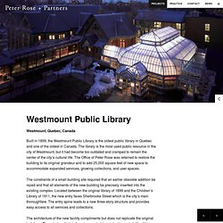 Westmount Public Library - Peter Rose + Partners