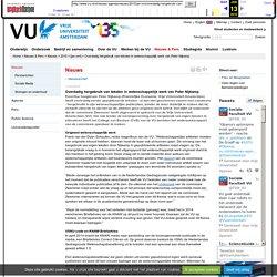 Overdadig hergebruik van teksten in wetenschappelijk werk van Peter Nijkamp - [jan-mrt] - Vrije Universiteit Amsterdam