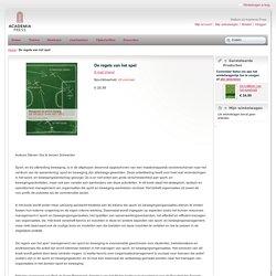 De regels van het spel. Management van sport en beweging.