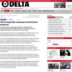 TU Delta: 'Wetenschappelijke wangedrag van Rotterdamse hoogleraar'