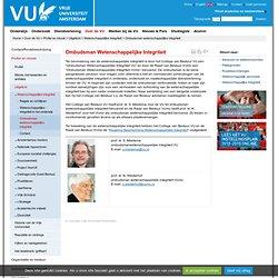 [new]Ombudsman wetenschappelijke integriteit - Wetenschappelijke integriteit