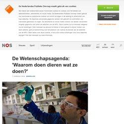 De Wetenschapsagenda: 'Waarom doen dieren wat ze doen?'
