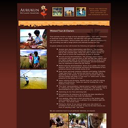 Wetland Tours At Aurukun Wetlands Cape York North Queensland
