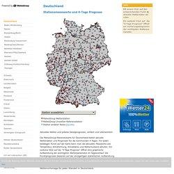 Wetterstationen Deutschland