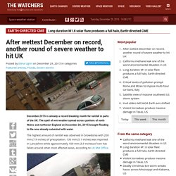 After wettest December on record, another round of severe weather to hit UK