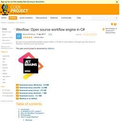 Wexflow: Open source workflow engine in C# - CodeProject