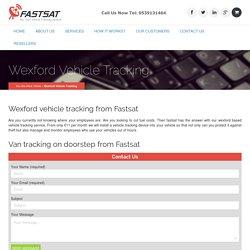 Wexford vehicle tracking