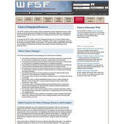 WFSF: Pedagogical Resources