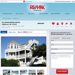 914 Whalehead Drive Corolla, NC 27927 For Sale - RE/MAX