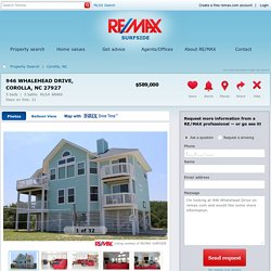 946 Whalehead Drive Corolla, NC 27927 For Sale - RE/MAX