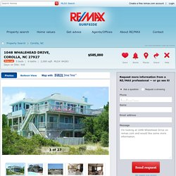 1048 Whalehead Drive Corolla, NC 27927 For Sale - RE/MAX