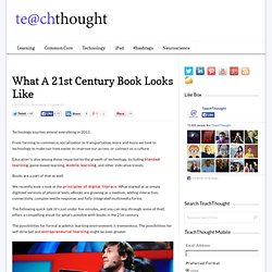What A 21st Century Book Looks Like