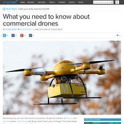 What you need to know about commercial drones
