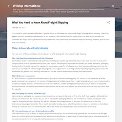 What You Need to Know About Freight Shipping