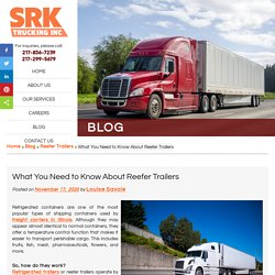 What You Need to Know About Reefer Trailers