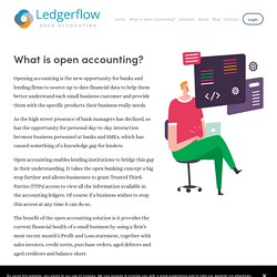 What is open accounting? — Ledgerflow