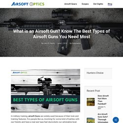 What is an Airsoft Gun? - Know The Airsoft Guns Types You Need Most
