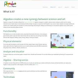 Algodoo es un simulador en el que se puede experimentar la ley de gravedad y otros fenómenos de la física.