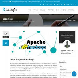 What is Apache Hadoop?
