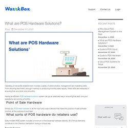 What are POS hardware solutions?