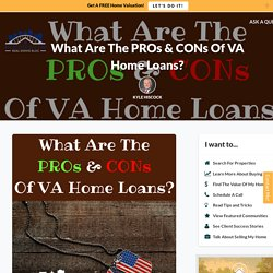 What Are The Advantages And Disadvantages Of A VA Mortgage?