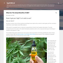 What Are The Actual Benefits of CBD?