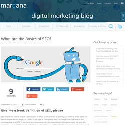 What are the Basics of SEO?