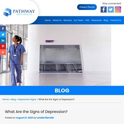 What Are the Signs of Depression?