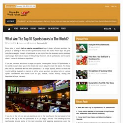 Top Land-Based and Online Sportsbooks