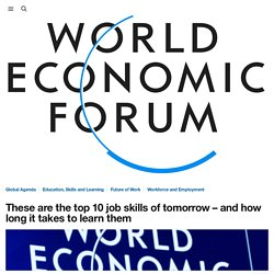 What are the top 10 job skills for the future?