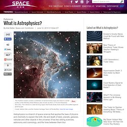 What is Astrophysics?