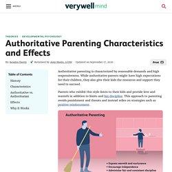 What Is Authoritative Parenting?