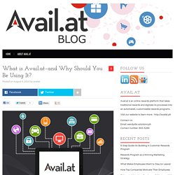 What is Avail.at-and Why Should You Be Using It? - Avail.at Blog